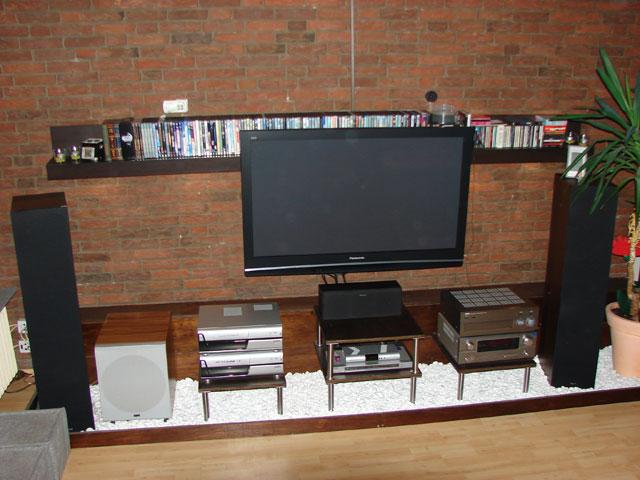 bilder eurer steinw nde kiesbetten racks geh use hifi forum seite 5. Black Bedroom Furniture Sets. Home Design Ideas